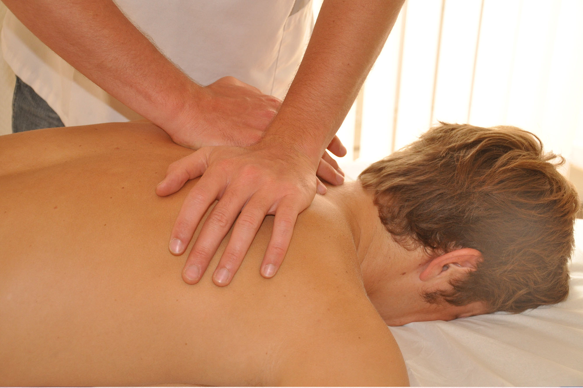Manipulation in osteopathy